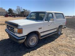 1991 Ford Bronco XLT 4x4 SUV