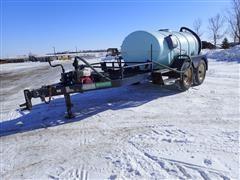 Schaben P-287-1610 1600-Gal Trailer W/Pump And Motor