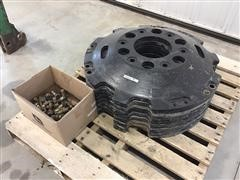 AGCO Challenger Front Hub Weights