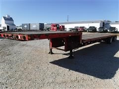 1999 Talbert 53' T/A Drop Deck Trailer