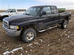 2001 Dodge Ram 2500 4X4 Extended Cab Pickup