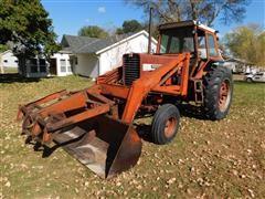Farmall 856 2WD Tractor W/Loader
