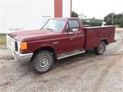 1988 Ford F250 Custom 4x4 Service Truck