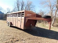 1990 Trailmann T/A Livestock Trailer