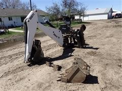 2002 Bobcat 8811 Skid Steer Backhoe Attachment