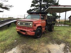 1978 Chevrolet C60 S/A Dump Truck