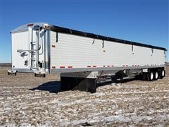 2012 Timpte 75062 Super Hopper Tri/A Grain Hopper Trailer
