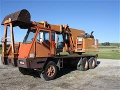 Koehring 4475 Teleskoop Wheel Excavator