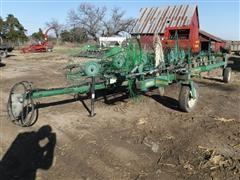 John Deere 704 12 Wheel Rake