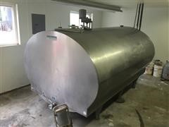 Mueller 1000 Gallon Bulk Milk Tank