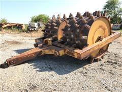 American Steel Works Double Drum Sheeps-Foot Soil Compactor