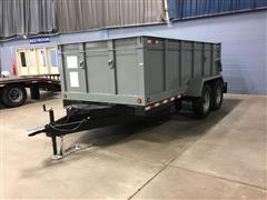 2020 Shop Built T/A Dump Trailer