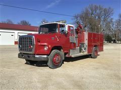 1986 Ford LTS8000 Pumper Truck
