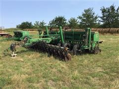 Great Plains Solid Stand 20 3-PT No-Till Drill On Transport Cart