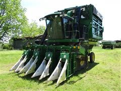 1997 John Deere 9965 4 Row Inline Cotton Picker