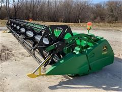 2011 John Deere 630F Grain Platform
