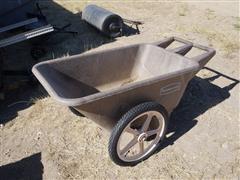 Rubbermaid 2 Wheeled .25 Yd Dump Cart