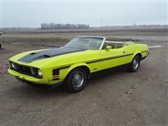 1973 Ford Mustang Convertible Car