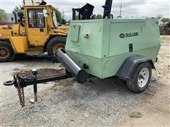 2003 Sullair 185 CFM Portable Diesel Air Compressor