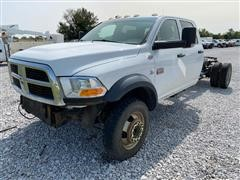 2011 Ram 5500HD 4x4 Crew Cab Dually Cab & Chassis