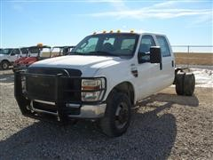 2008 Ford F-350 XL Super Duty 4x4 Cab & Chassis