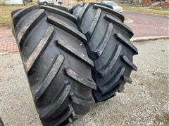 Michelin Mach XBIB 600/70R30 Tractor Tires And Rims