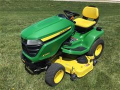 """2017 John Deere X380 Lawn Tractor W/ 48"""" Deck"""