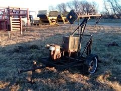 Gas Powered Portable Pump Jack