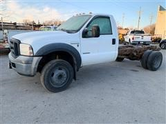 2006 Ford F550 Super Duty Cab & Chassis