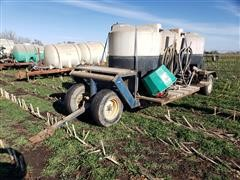 Trailer W/Chemical Totes