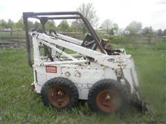 Melroe Bobcat M 610 Salvage Skid Steer