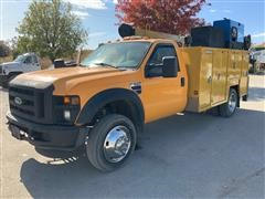 2008 Ford F550 Mechanics Truck