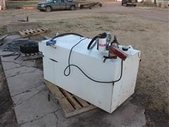 Transfer Fuel Tank W/12V Pump And Meter