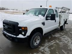 2009 Ford F-250 XL Super Duty 4x4 Extended Cab Utility Pickup