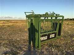 Powder River 2000 Manual Squeeze Chute