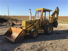 Ford 550 Backhoe W/Hydraulic Thumb