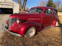 1939 Chevrolet Master Deluxe 2 Door Sedan Hot Rod Car