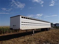 1976 Guthrie Livestock Trailer