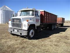1983 Ford LN9000 T/A Grain Truck
