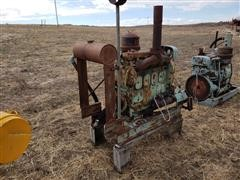 Detroit Diesel Irrigation Engine