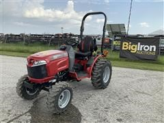 2019 Mahindra Max 26 XLT 4WD Compact Utility Tractor