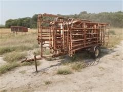 Fence Panel Trailer W/Panels