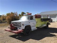 1975 GMC 6000 Fire Truck
