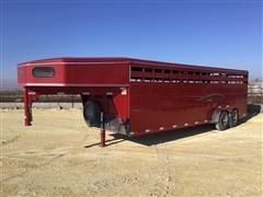 2006 Titan Classic 24' T/A Livestock Trailer