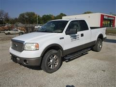 2006 Ford F150 Lariat 4x4 Extended Cab Pickup