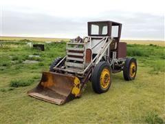 Home-Built 4WD Wheel Loader