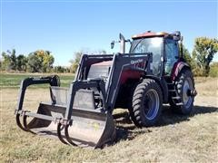 2003 Case IH MX210 MFWD Tractor W/Loader