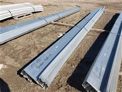 """Behlen Mfg 10"""" Wide Galvanized Steel Purlin"""