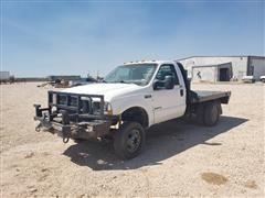 2002 Ford F350 4x4 Dually Flatbed Pickup (INOPERABLE)