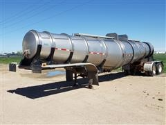 1982 Polar 5500-Gal Stainless Steel T/A Tanker Trailer
